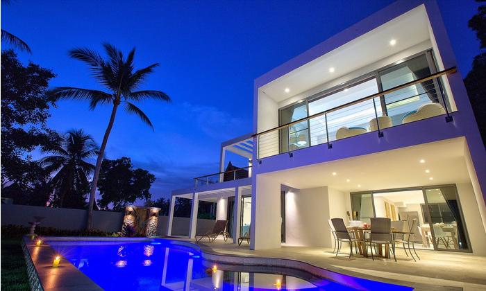 koh samui villa with pool